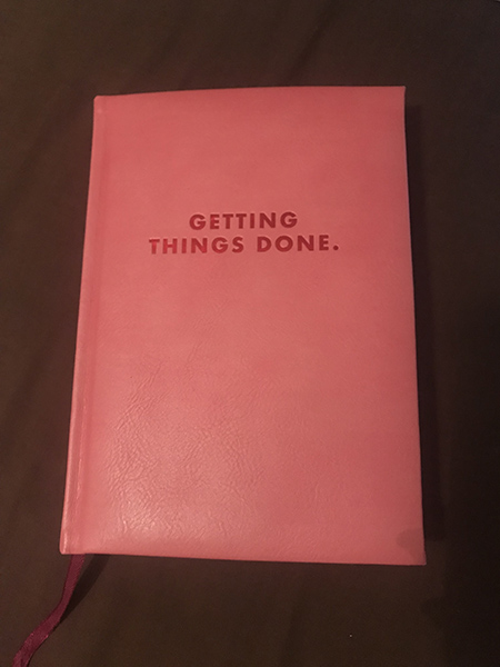 Getting Things Done planner image