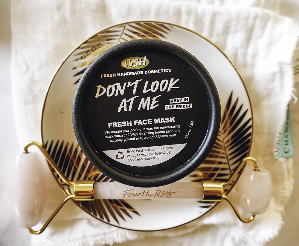 Lush Don't Look At Me Fresh Face Mask image