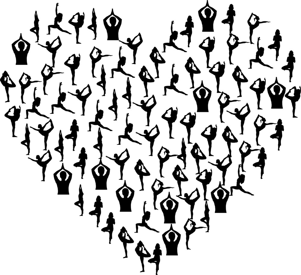 Yoga poses image
