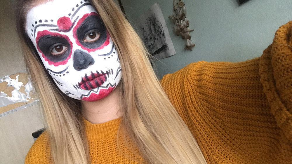 Day of the Dead makeup image