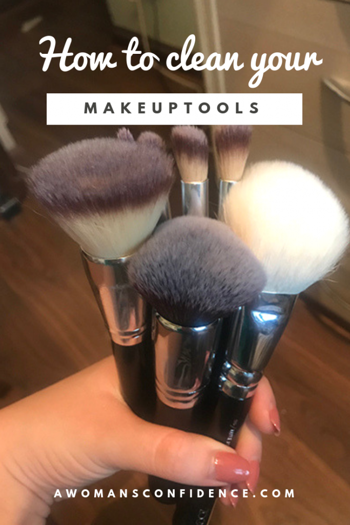 How to clean your makeup tools Pinterest