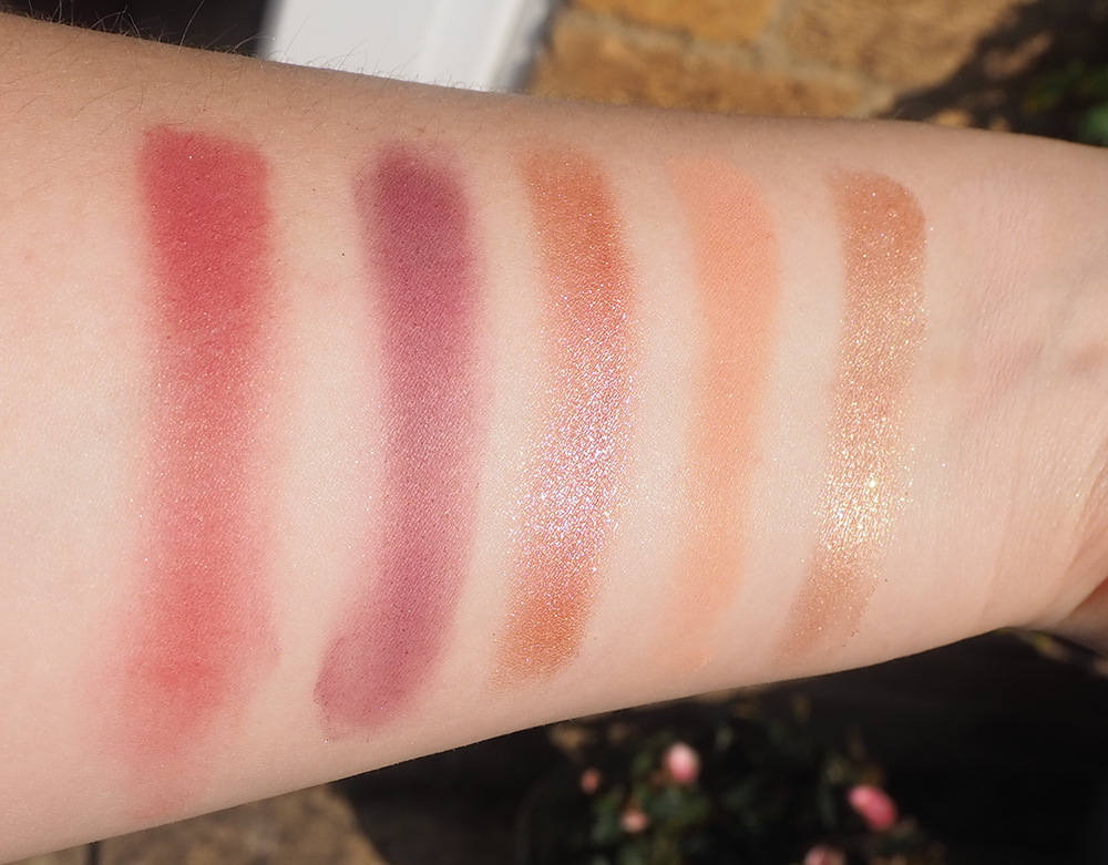 Huda Beauty The New Nude Palette swatches image