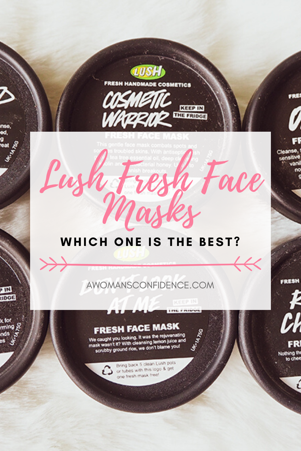 Lush Fresh Face Masks image