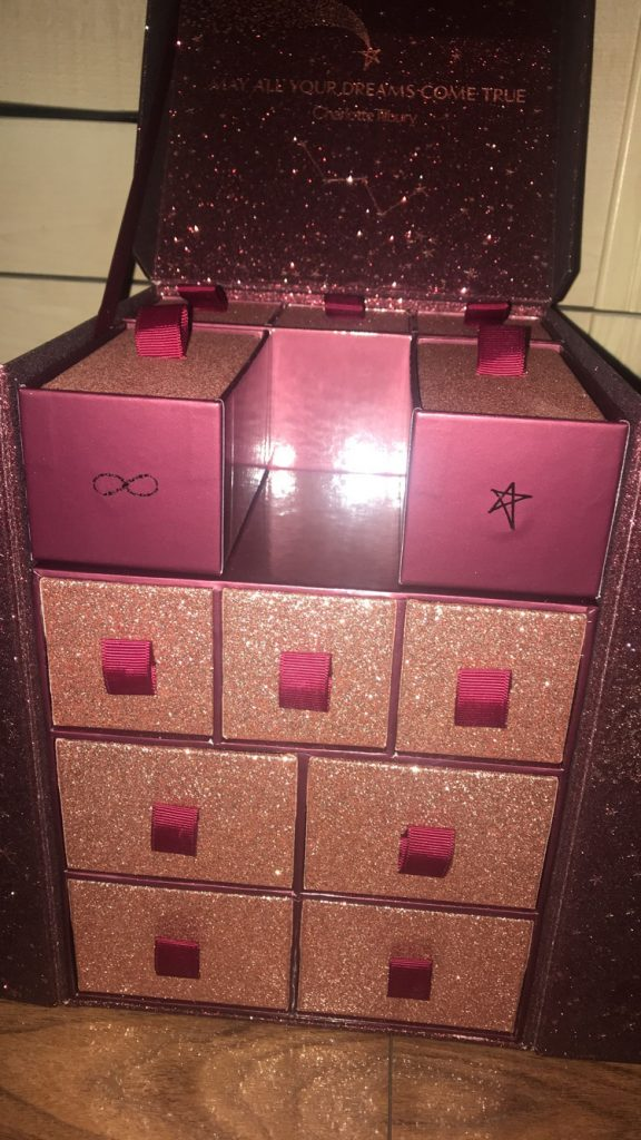 Charlotte Tilbury Beauty Advent Calendar packaging image