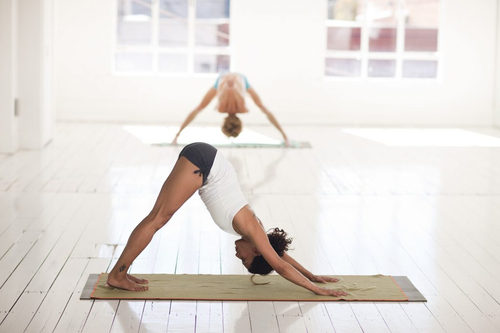 Yoga positions image