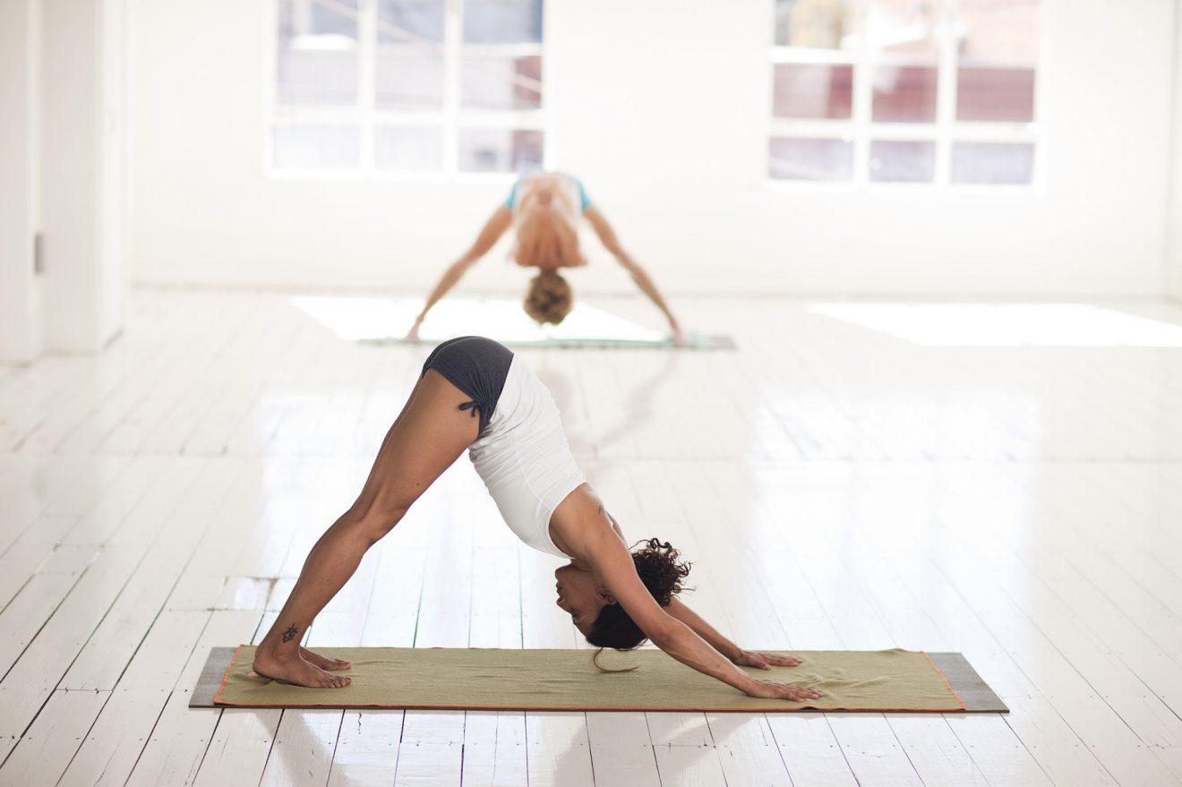 Yoga positions image