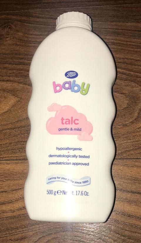 Baby talc image