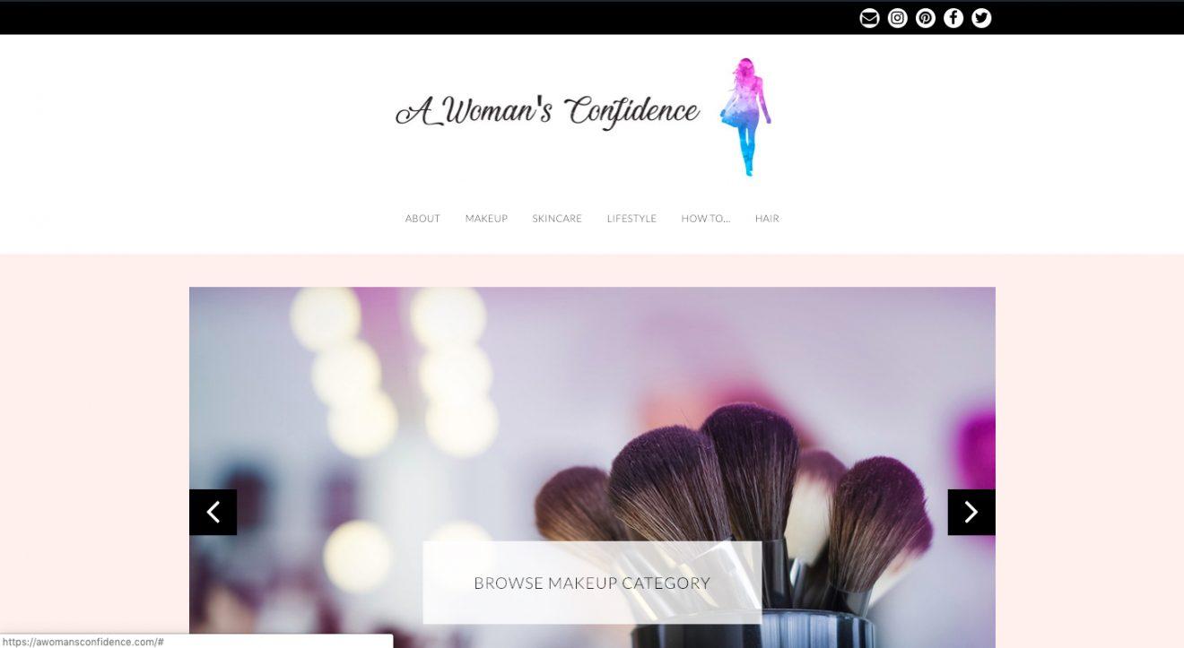 Blog screenshot image