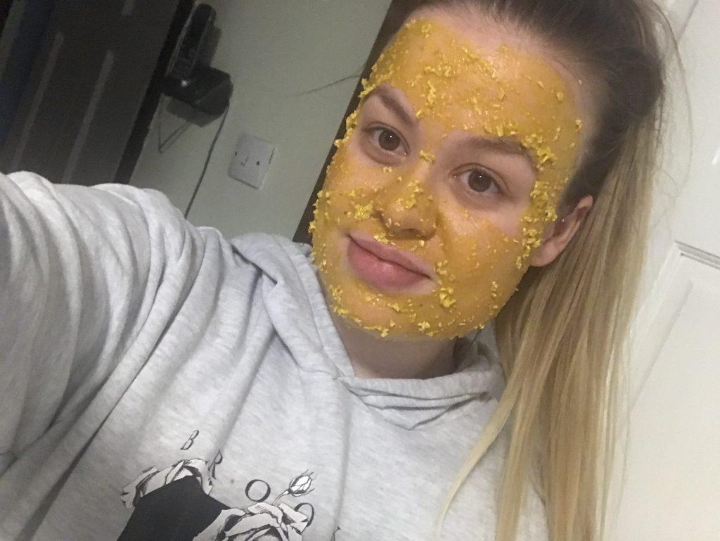 DIY brightening face mask image