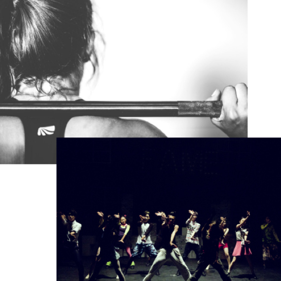 Exercising image