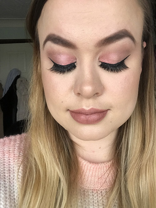 Opalescent Palette makeup look image
