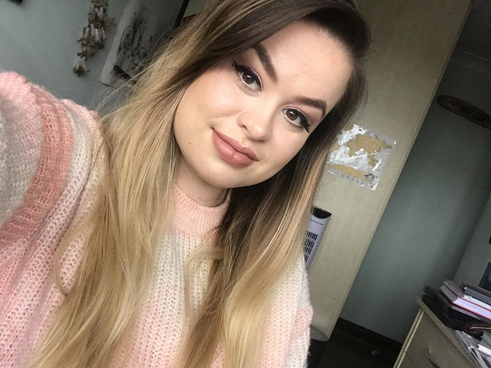 Opalescent Palette makeup look image