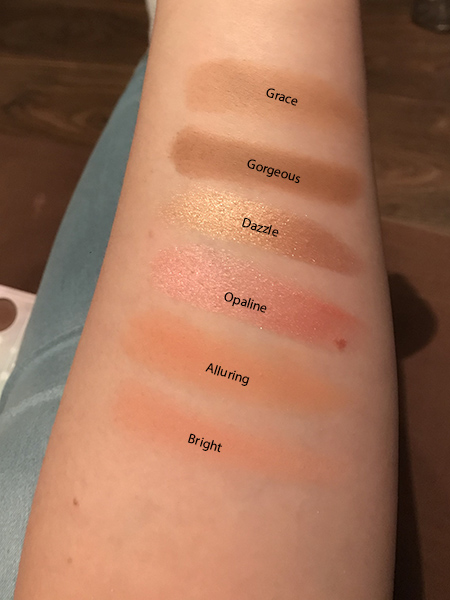 Opalescent Palette swatches image