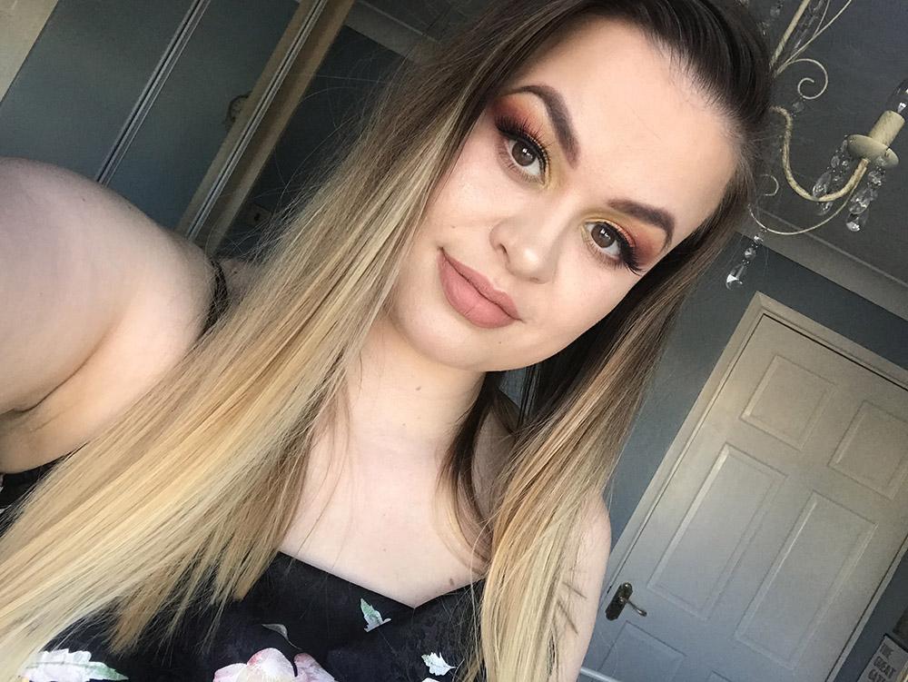 Morphe Boss Mood Palette makeup look image