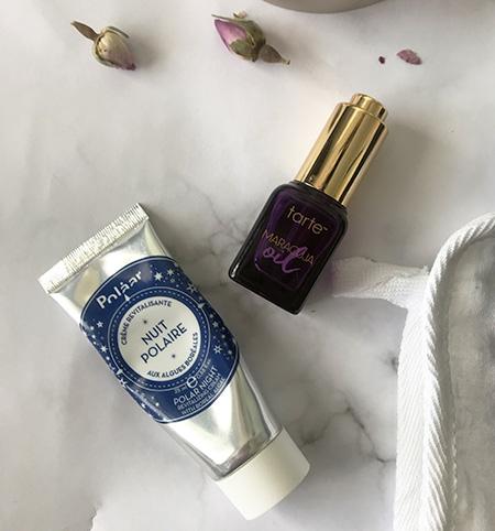 Tarte Maracuja Oil and Polaar's night cream image