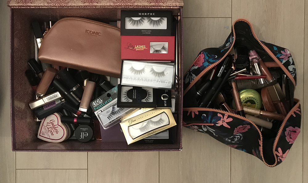 Lots of makeup products image