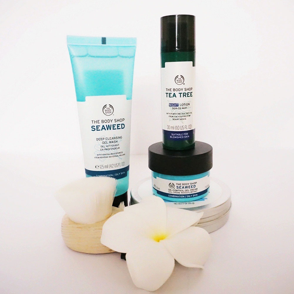 The Body Shop skincare for oily skin products image