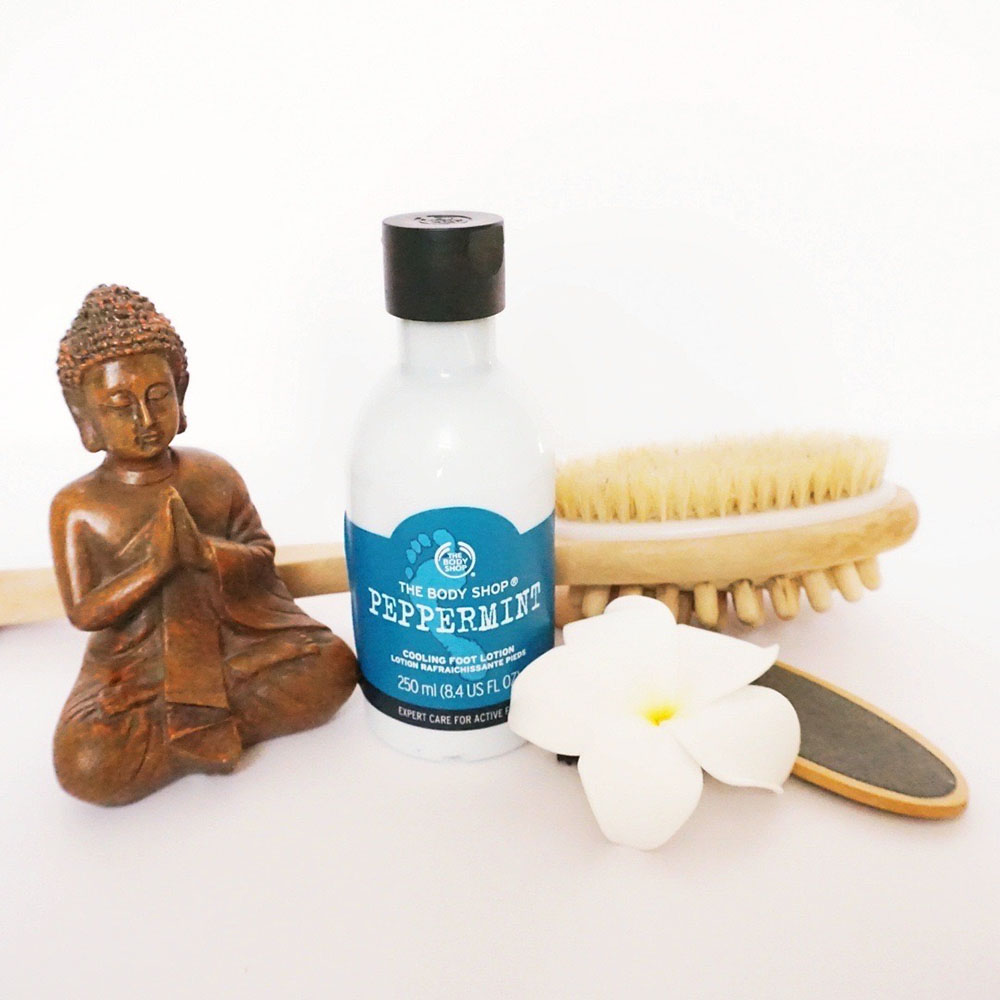 The Body Shop Peppermint Cooling Foot Lotion image