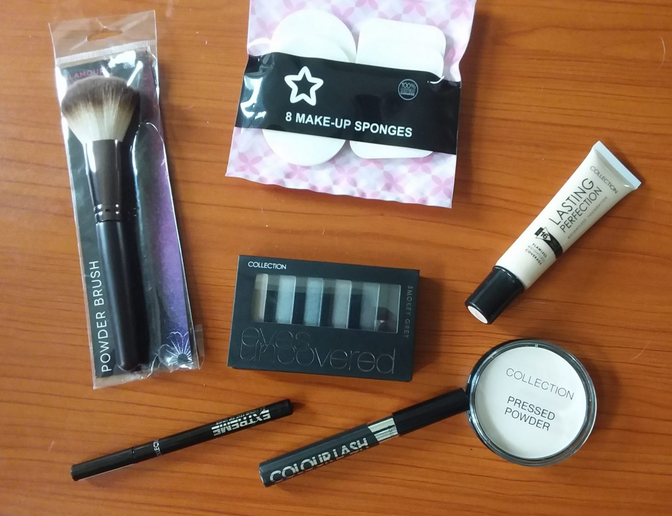 Makeup products image