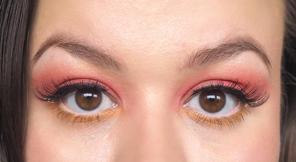 Spring eye makeup image