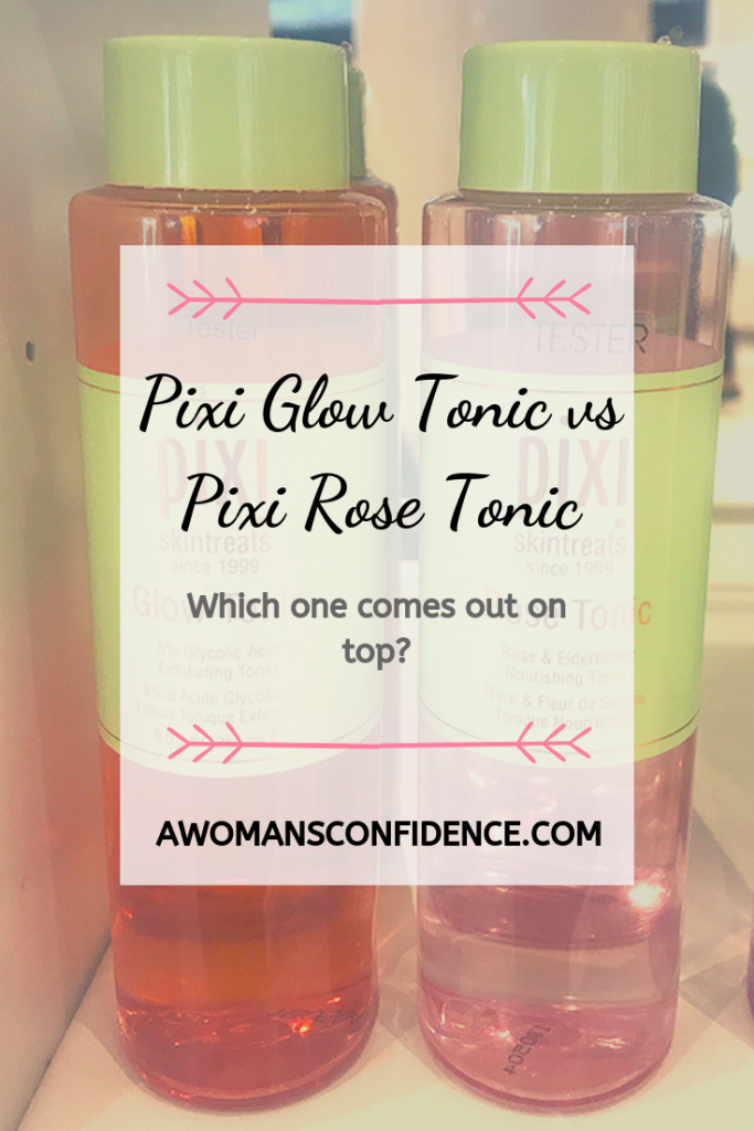 Pixi Glow Tonic and Pixi Rose Tonic image