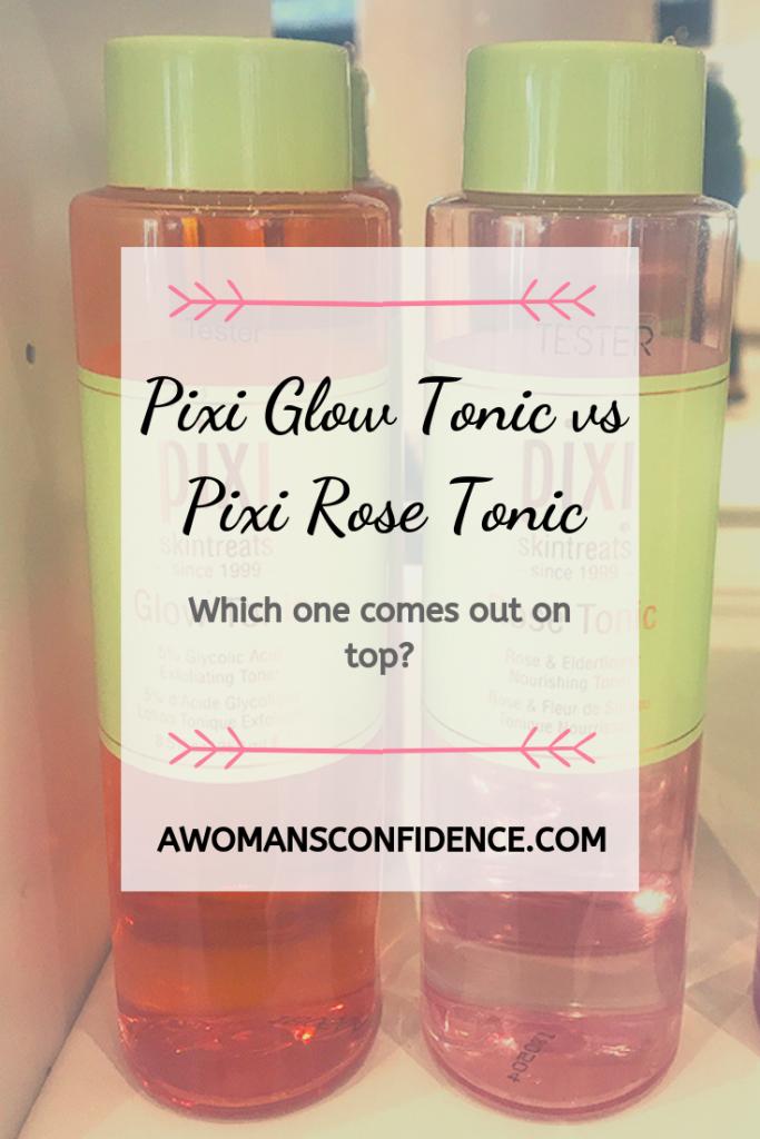 Pixi Glow Tonic and Pixi Rose Tonic image