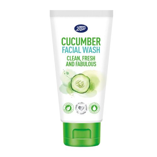 Boots Cucumber Facial Wash image