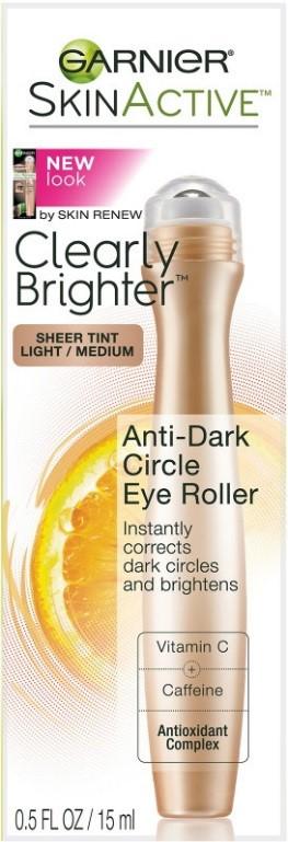 Garnier SkinActive Clearly Brighter Sheer Tinted Eye Roller image