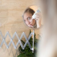 Skincare routine image