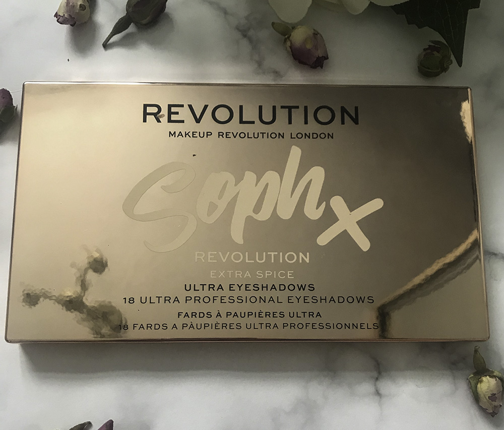 Makeup Revolution x Soph Extra Spice eyeshadow palette image