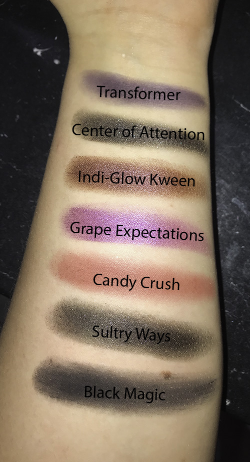 Morphe 35M Boss Mood Artistry Palette swatches image