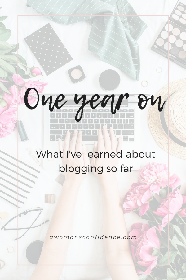 What I've learned about blogging image