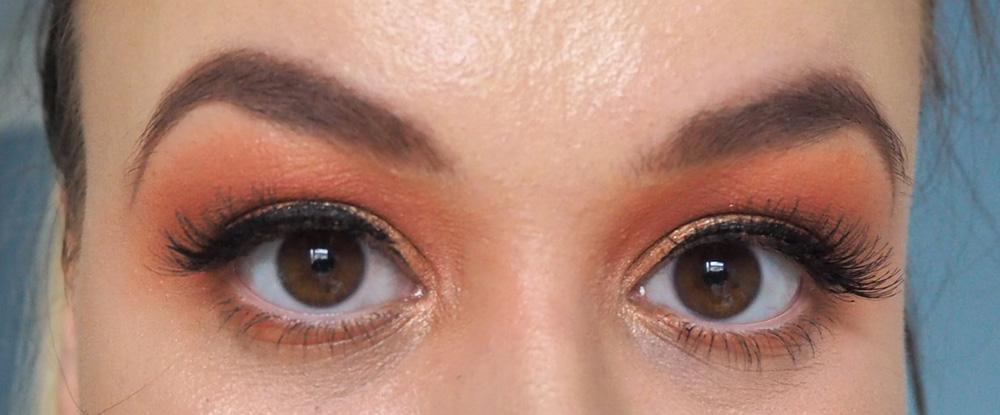 Makeup Revolution x Soph collection makeup look image