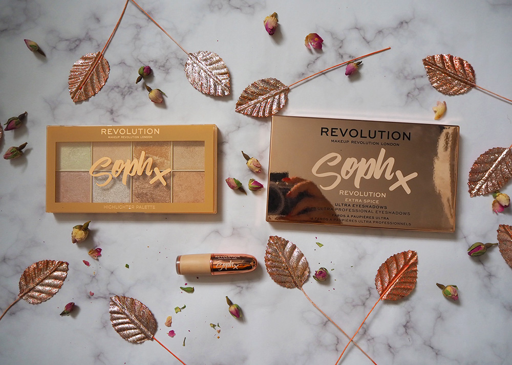Makeup Revolution x Soph collection image