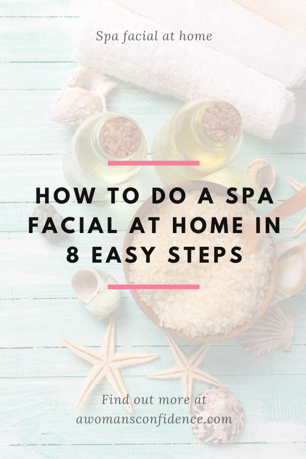 Spa facial at home image
