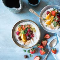 healthy breakfast image