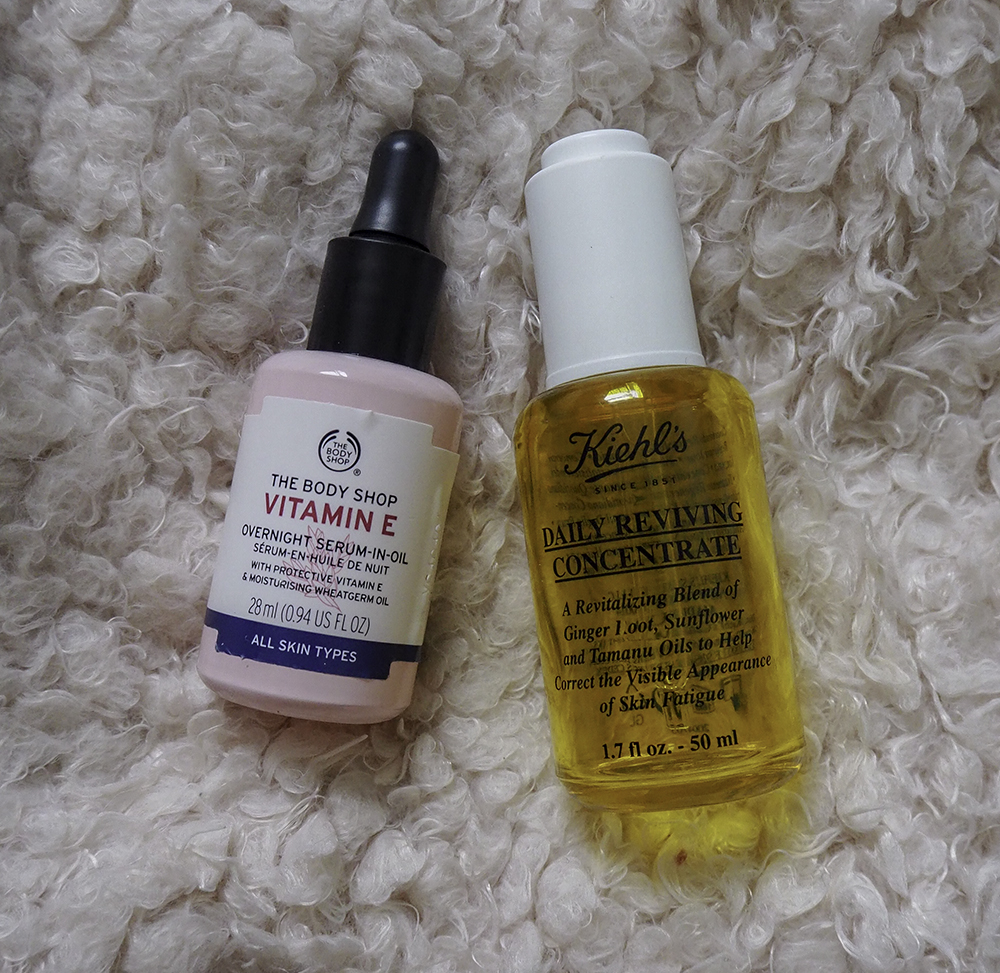 Facial oils image