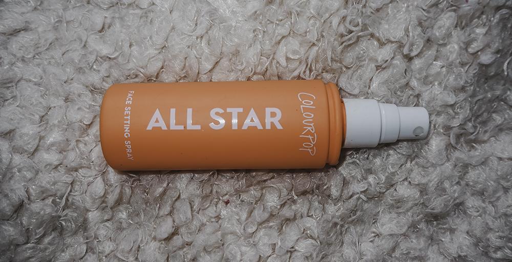 Colourpop All Star setting spray image