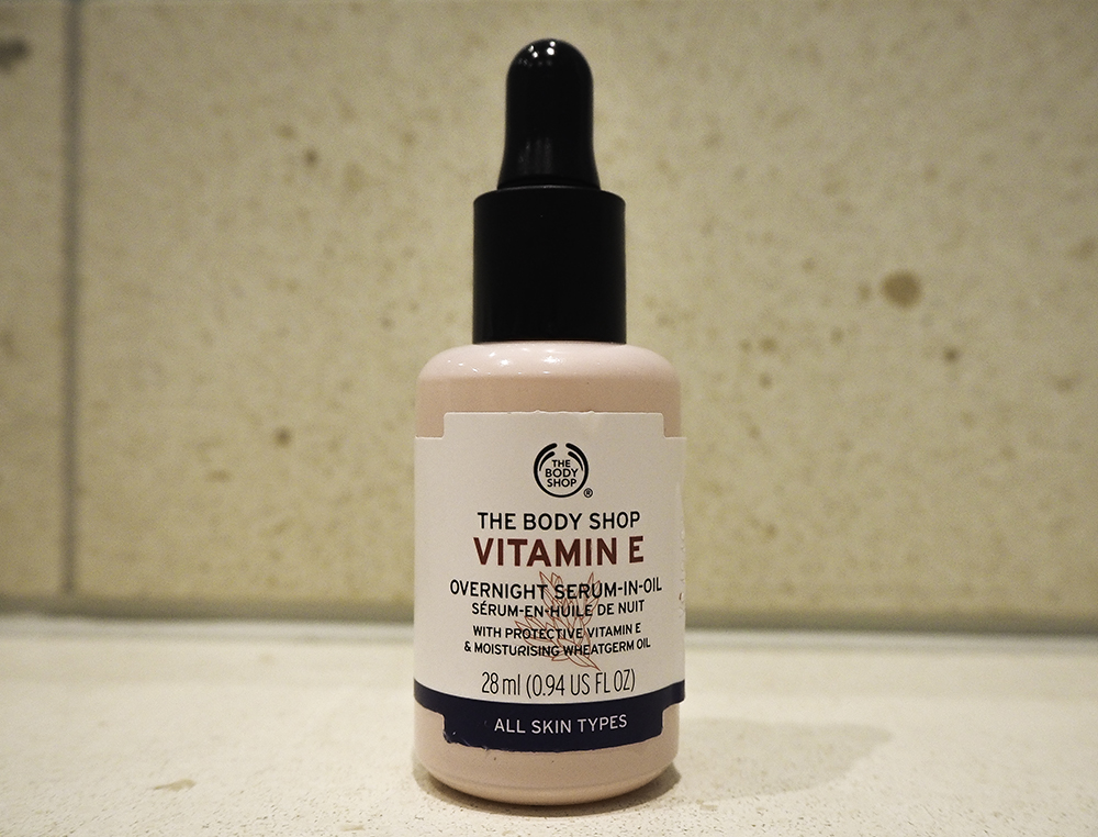 The Body Shop Vitamin E Overnight Serum-In-Oil image