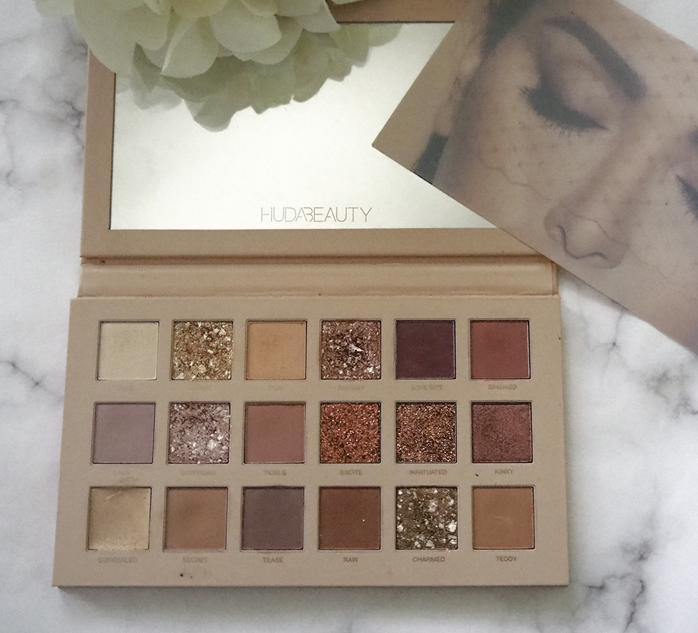 Huda Beauty New Nude Eyeshadow Palette image
