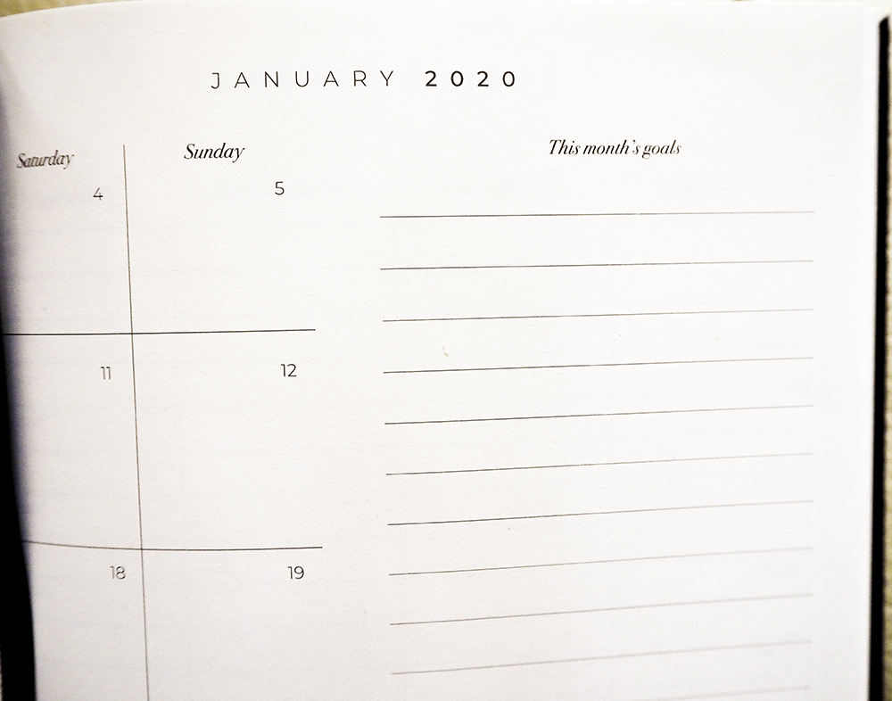 January 2020 goals image