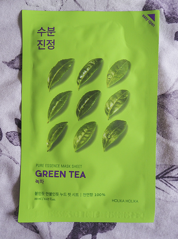 Holika Holika Pure Essence Mask Sheet Green Tea image