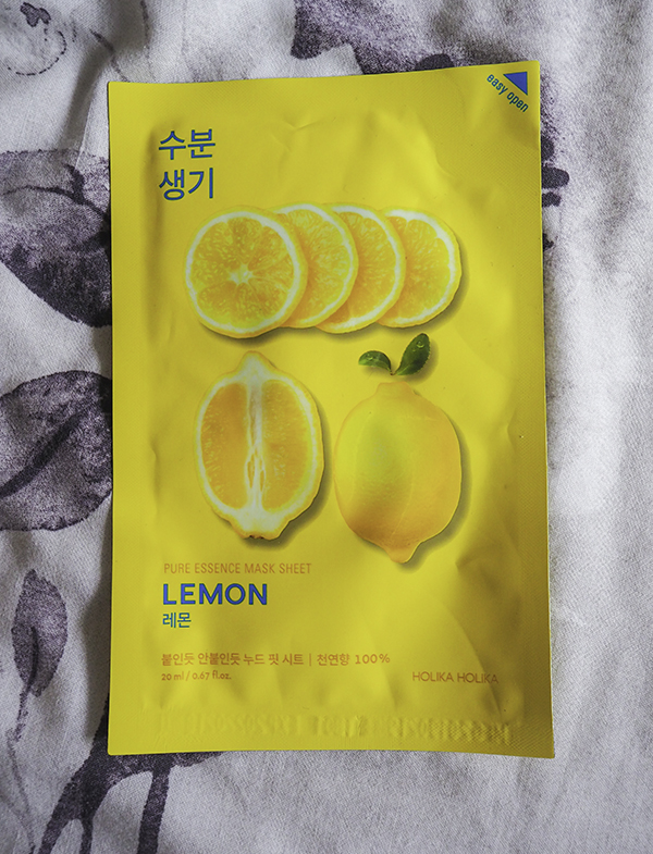 Holika Holika Pure Essence Mask Sheet Lemon image