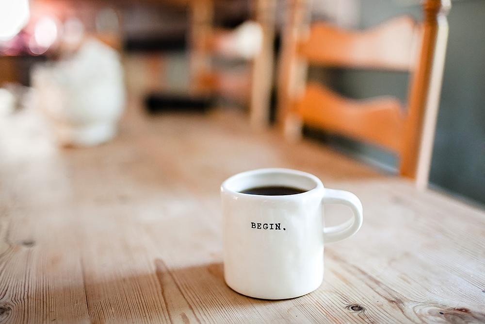Begin mug image