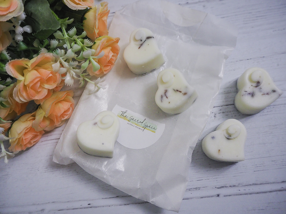 Lavender Soy Wax Melt Hearts image
