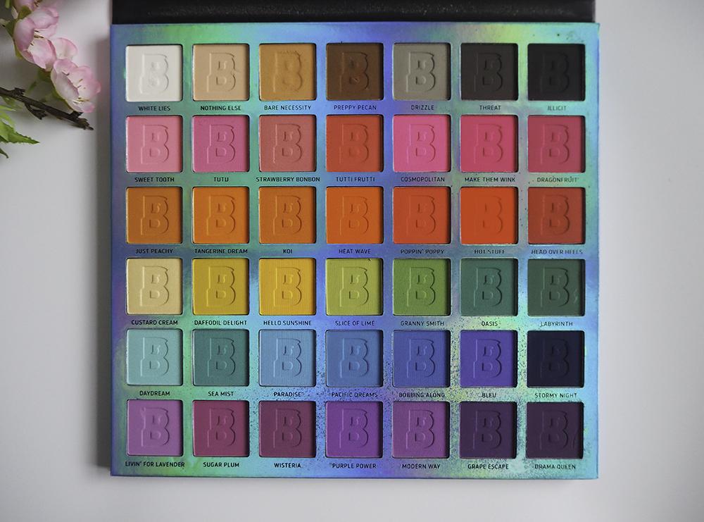 Beauty Bay EYN Bright Matte 42 Colour Palette image
