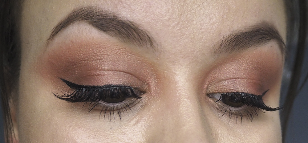 Beauty Bay Bright Matte Palette makeup look image