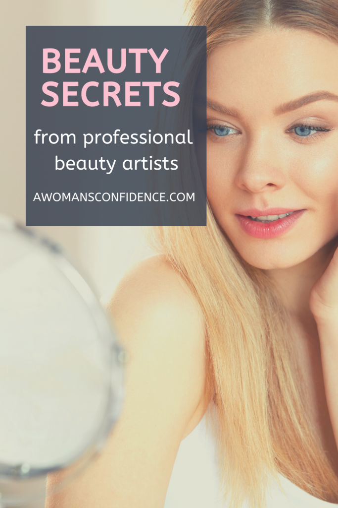 beauty secrets from professional beauty artists image