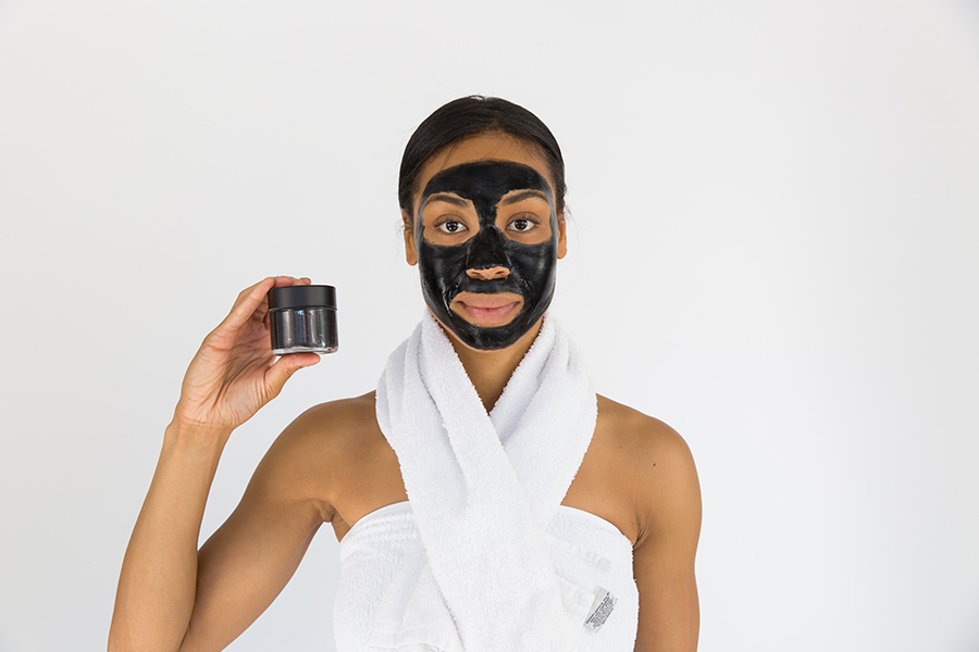 charcoal face mask image