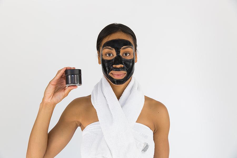 charcoal face mask image